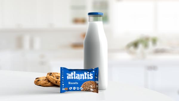 Atlantis biscuits Packaging