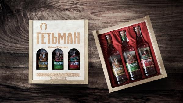 Vodka Getman Gift box