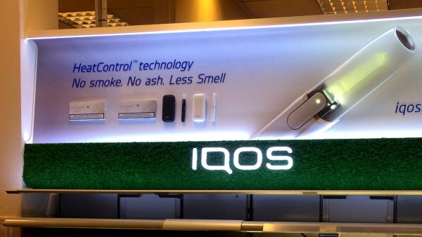 IQOS Show panel
